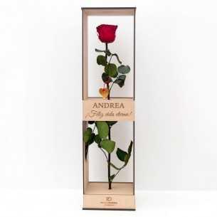 Rosa eterna personalizada -...